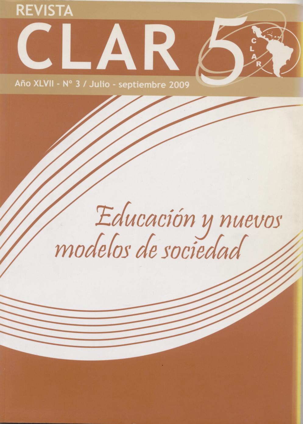 Ver Vol. 47 Núm. 3 (2009): Educación y nuevos modelos de sociedad