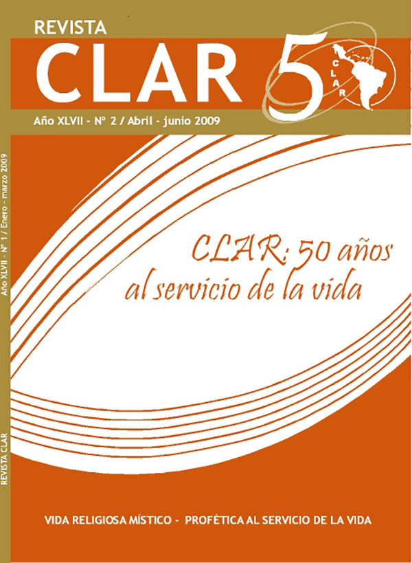 Ver Vol. 47 Núm. 2 (2009): CLAR: 50 años al servicio de la vida